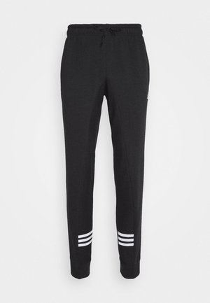 ESSENTIALS TRAINING SPORTS PANTS - Spodnie treningowe - black/white
