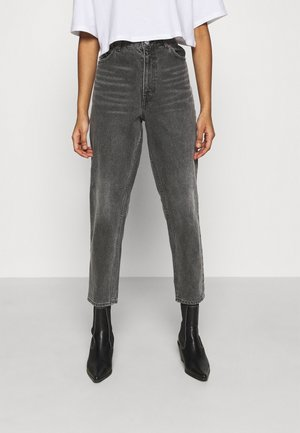 TAIKI SPRING  - Straight leg jeans - black dark