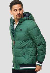 INDICODE JEANS - REGULAR  FIT - Winter jacket - smoke pine - 3