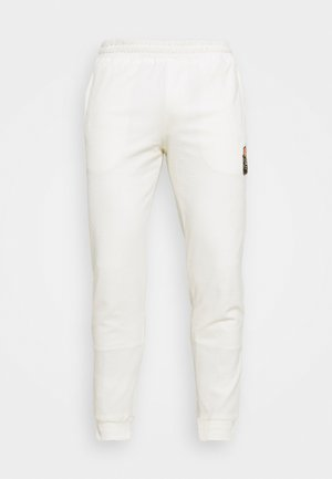PRINCES TRACK PANTS - Tracksuit bottoms - egret