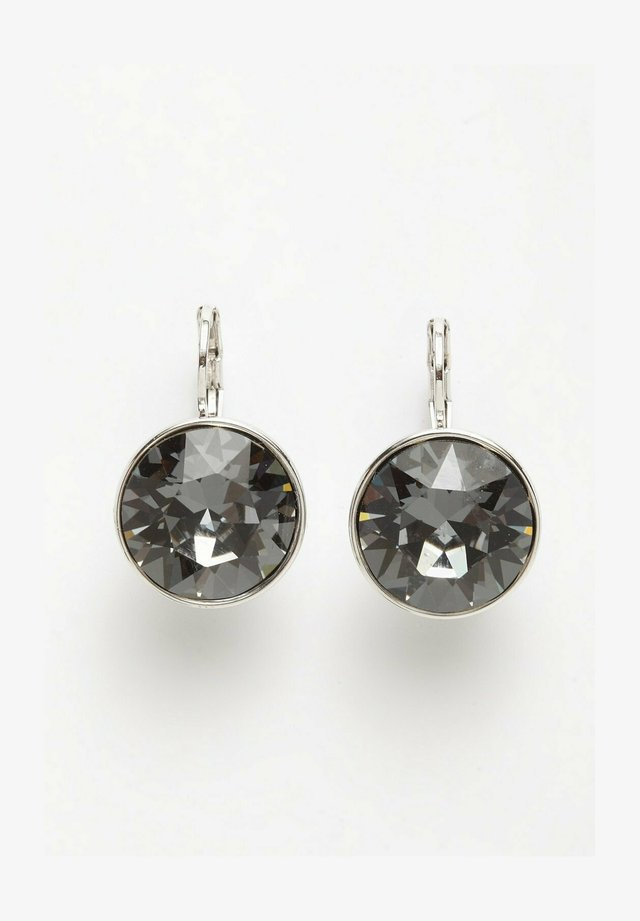 AVANT-GARDE PARIS PIERCED EARRING CRYSTALLIZED WITH AUSTRIAN SWAROVSKI ELEMENT - Oorbellen - dark grey