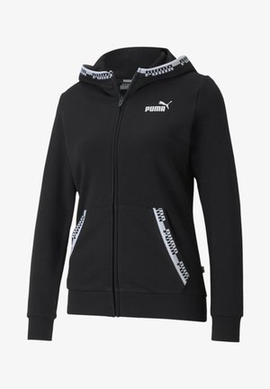 Zip-up hoodie - puma black