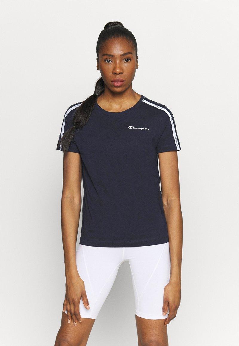 Champion - CREWNECK - Camiseta estampada - dark blue