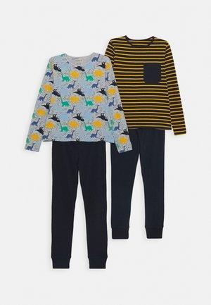NKMNIGHTSET 2 PACK - Pyjama - grey melange