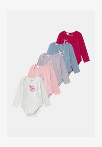 Guess - BABY 5 PACK - Dárky pro nejmenší - vintage baby pink - 0