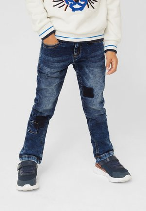 SLIM  - Jeans Straight Leg - dark blue