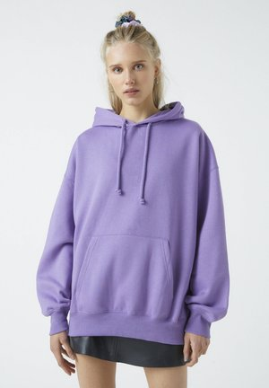 Sweat à capuche - mauve