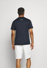 New Balance - ACCELERATE SHORT SLEEVE - Print T-shirt - eclipse - 2