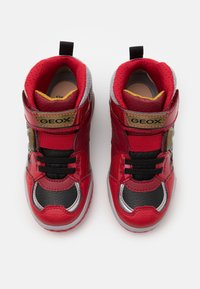 Geox - INEK BOY - Sneakersy wysokie - red - 3