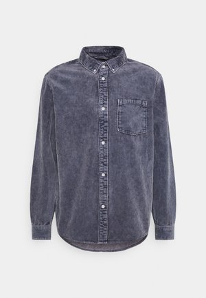 MALCON WASHED - Camisa - navy