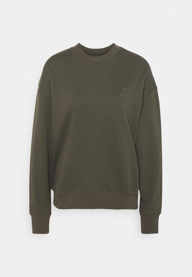 LOGO SWEATER - Sweater - olive