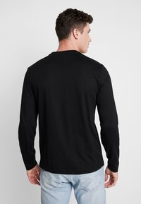 Calvin Klein - LOGO LONG SLEEVE  - T-shirt à manches longues - black - 2