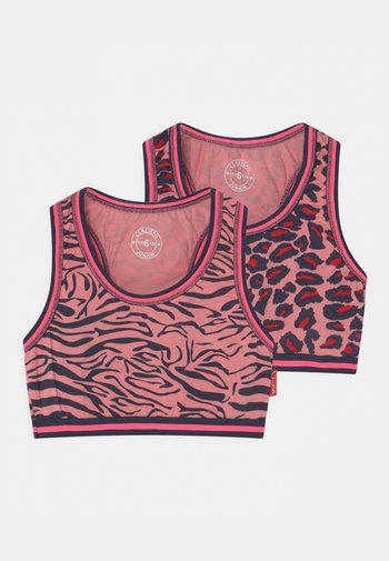 GIRLS 2 PACK - Bustier - pink
