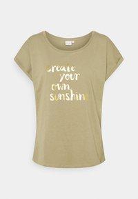 Cream - BETA - Print T-shirt - mermaid - 0