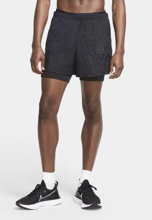 3-IN-1  - kurze Sporthose - black/black