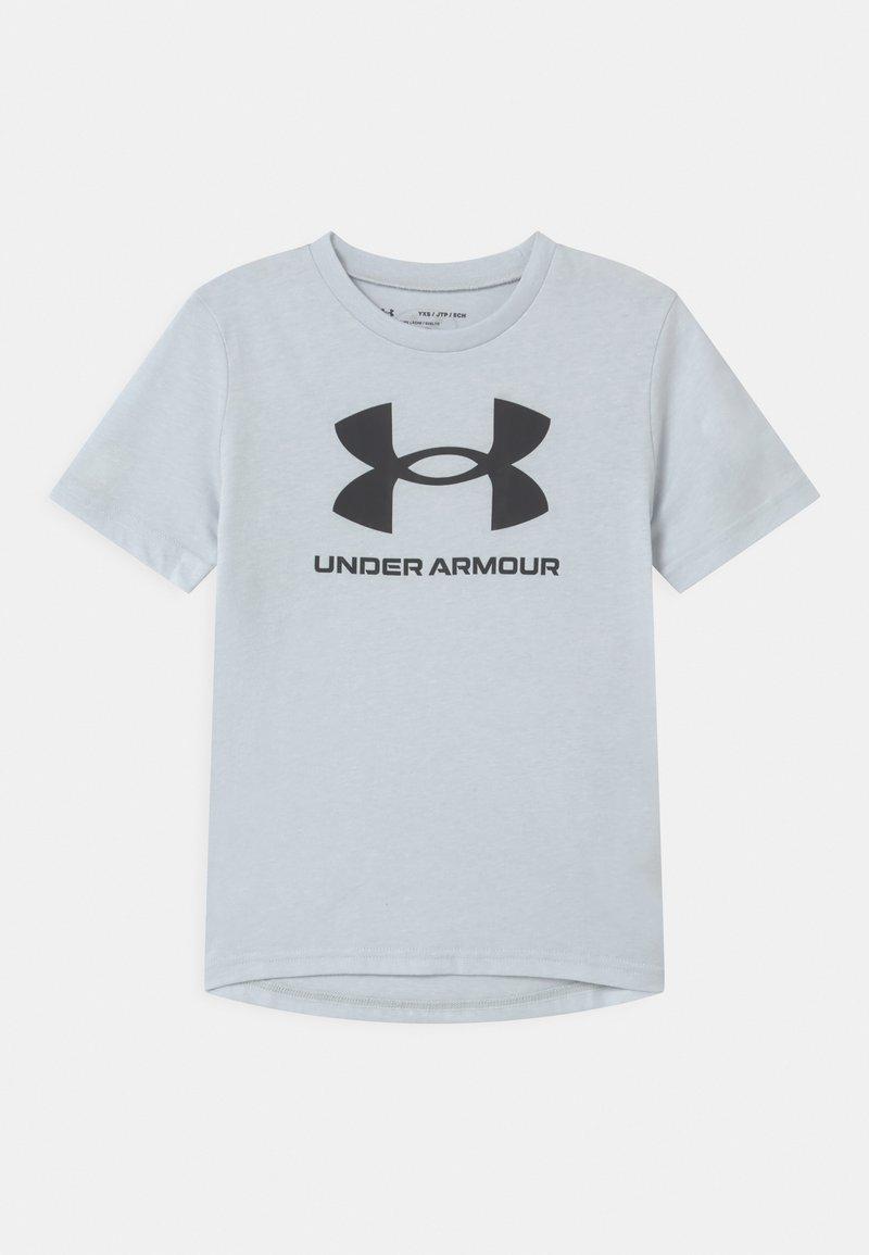 Under Armour - Print T-shirt - halo gray light heather