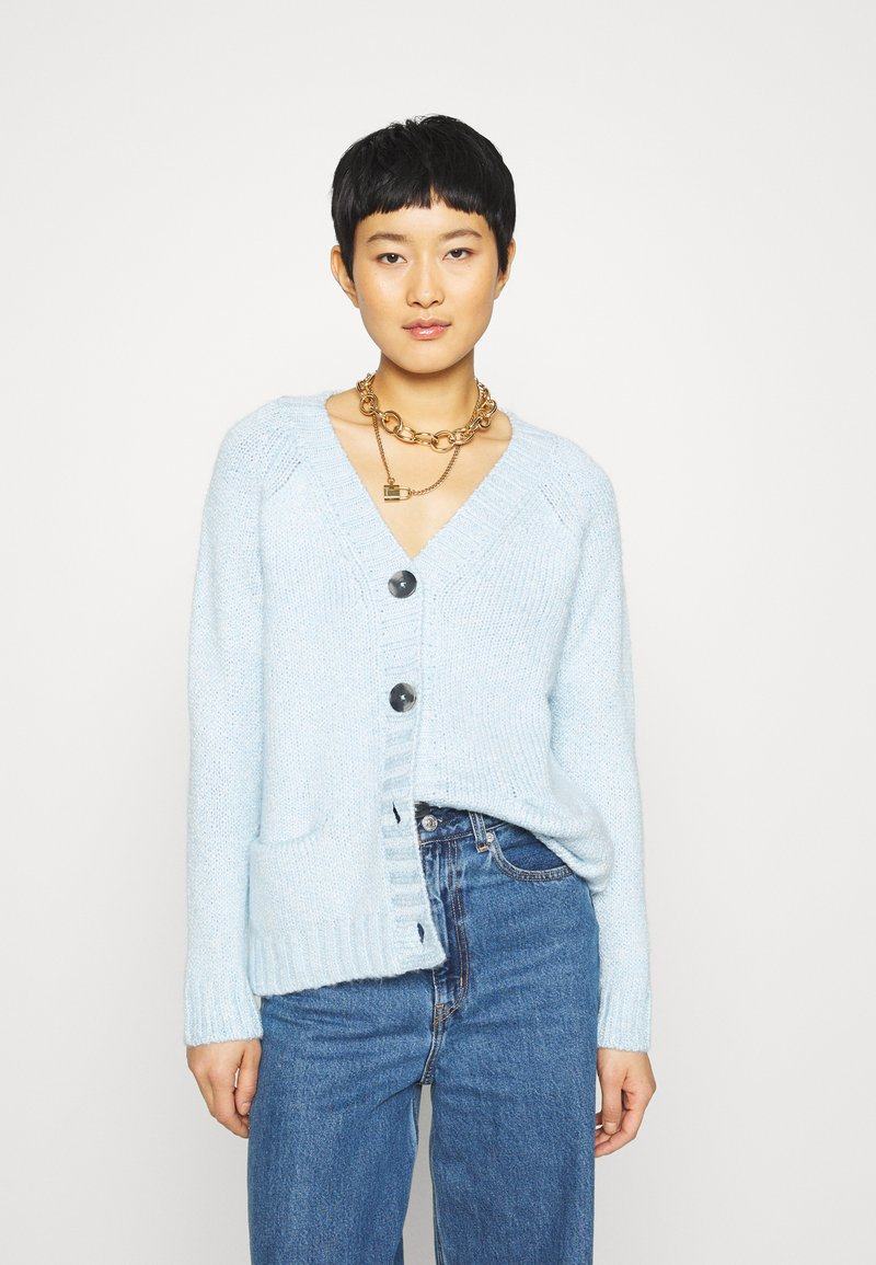 Mavi - BUTTON UP  - Kardigan - cashmere blue