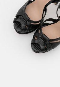 ALDO - LACLA - High heeled sandals - black - 5