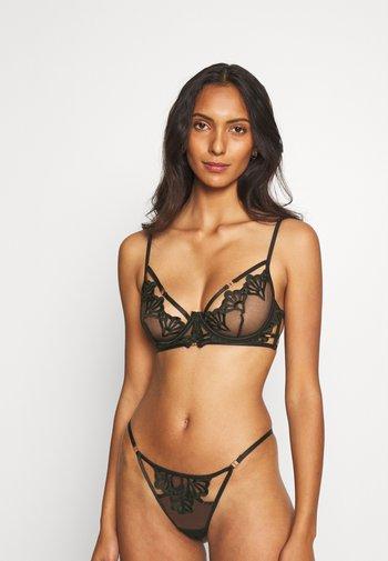 CARAMELLA BRA - Kaarituelliset rintaliivit - black