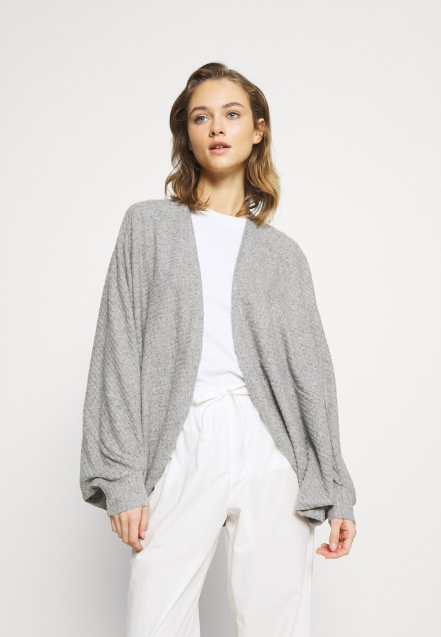 DAMON VESTE LOUNGEWEAR - Kardigan - grey