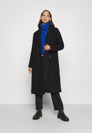 LOU COAT - Kåpe / frakk - black