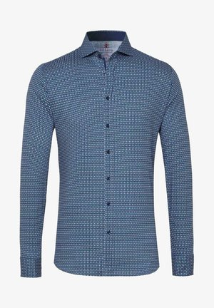 Shirt - blue  red minimal