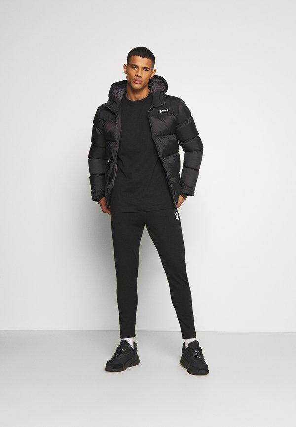 Gym King LIGHT WEIGHT BASIS - Spodnie treningowe - black/czarny Odzież Męska ZHVC