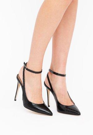 SOFIA - High heels - whips lux nero