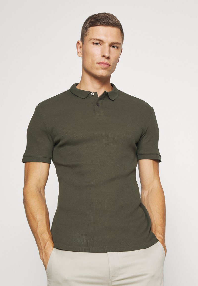 Pier One - Polo shirt - oliv