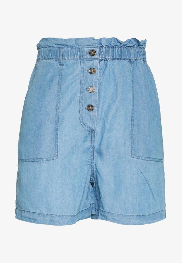 SLKESIA SHORTS - Shorts - medium blue denim