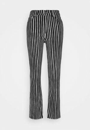 LAULELEN PICCOLO TROUSERS - Trousers - offwhite/black