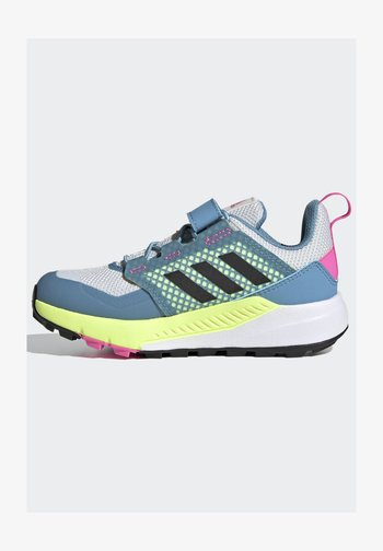 TERREX TRAILMAKER - Hiking shoes - crystal white/core black/screaming pink