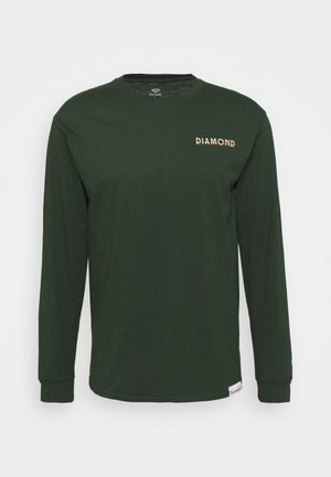 GLOSS TEE - Long sleeved top - forest green