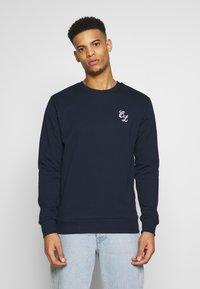 CLOSURE London - CREWNECK 2 PACK - Sweatshirt - khaki/navy - 2