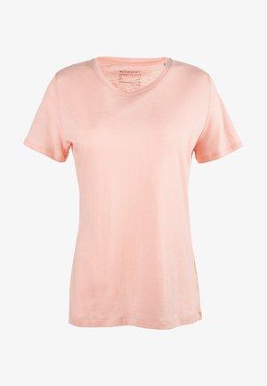 Basic T-shirt - powder rose