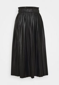 ONLY - ONLMIE MIDI PLEAT SKIRT - A-line skirt - black - 4