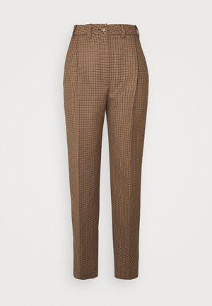 LUCAS - Kalhoty - brown