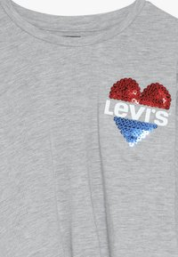 Levi's® - DOLMAN TIE FRONT - Long sleeved top - grey heather - 4