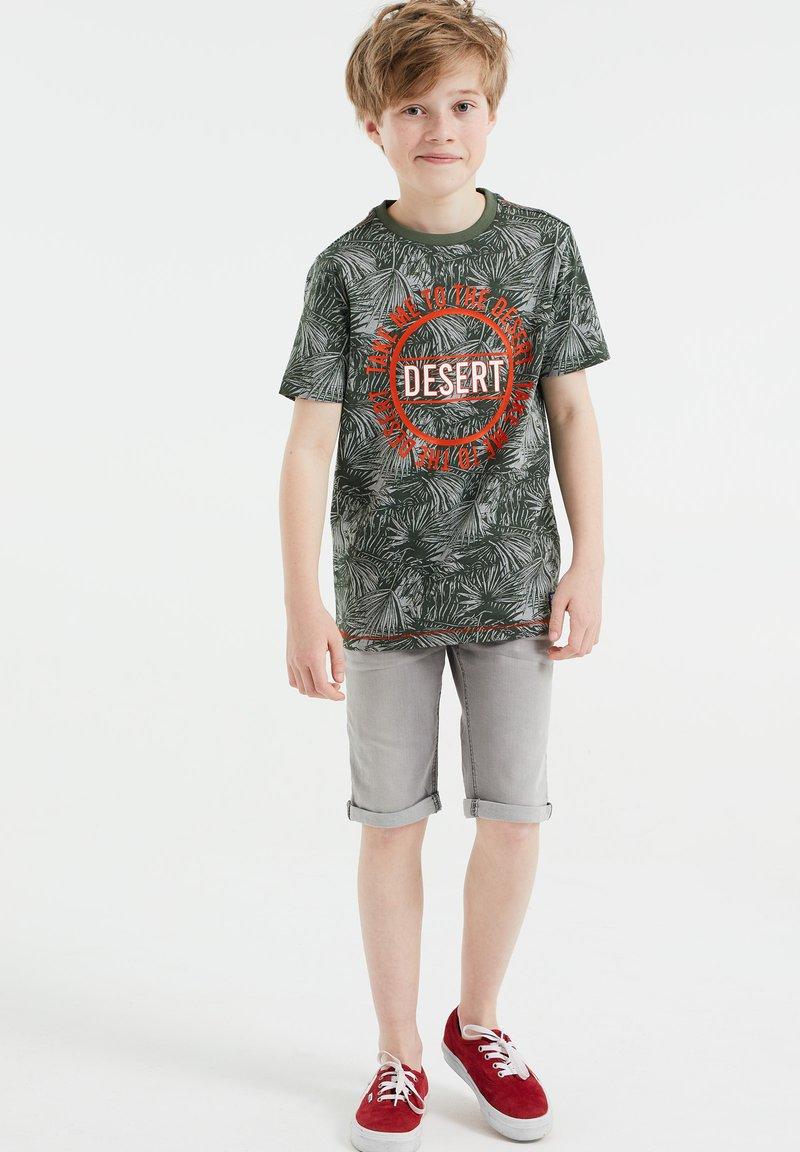 WE Fashion - T-shirts print - army green