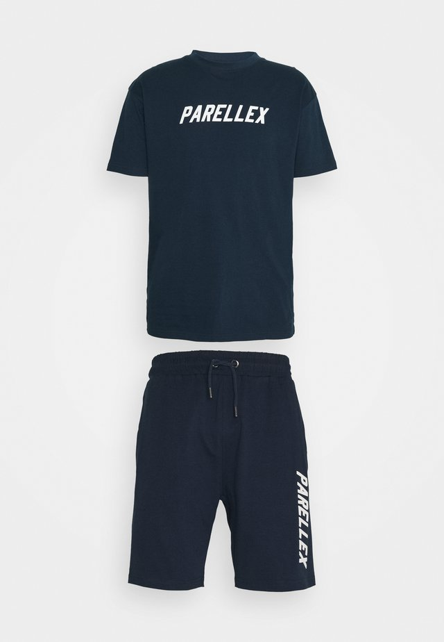 LOUNGE TEE LOUNGE TWIN SET - Survêtement - navy