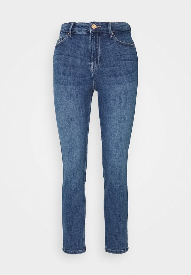 PCLILI - Jeansy Skinny Fit - medium blue denim