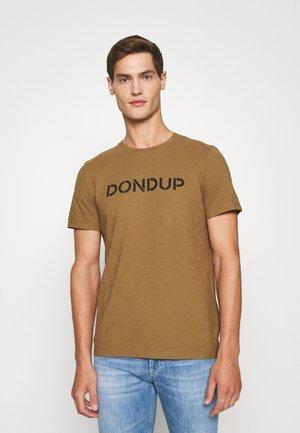 T-Shirt print - camello