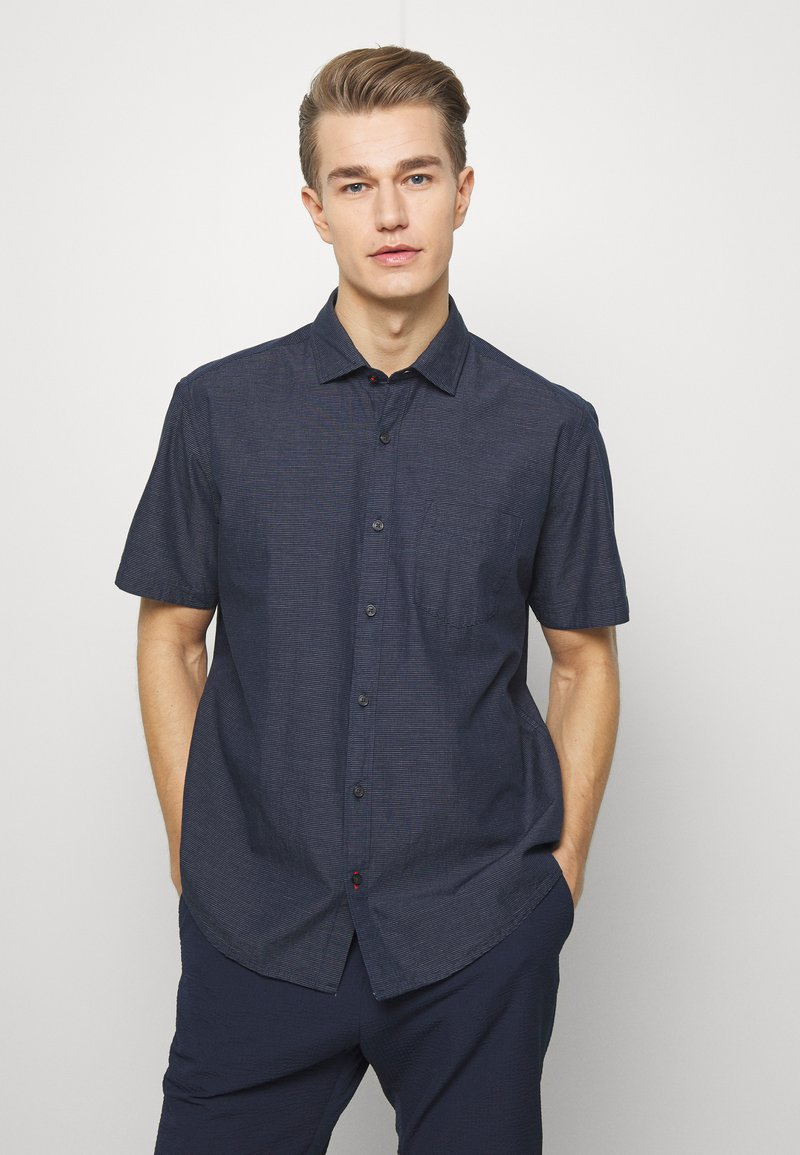 s.Oliver - Shirt - smokey blu