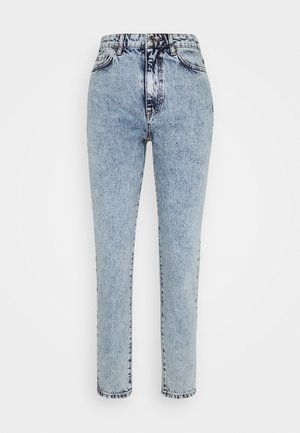 DAGNY HIGHWAIST - Jeans relaxed fit - mid blue snow