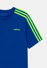adidas Performance - UNISEX - Print T-shirt - royal blue/signal green - 2