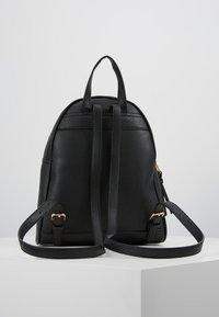New Look - SID STUDDED ZIP BACKPACK - Rugzak - black - 2