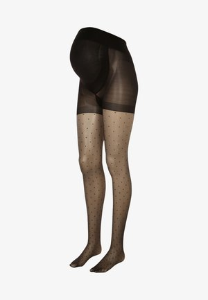 Strømpebukser - black