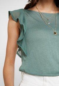 Anna Field - Print T-shirt - dark green - 4