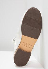 Friboo - Ankle strap ballet pumps - white - 5