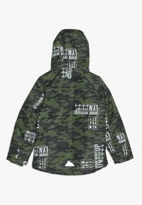 Name it - NKMMAX JACKET CAMO TEXT - Winterjas - winter moss - 1